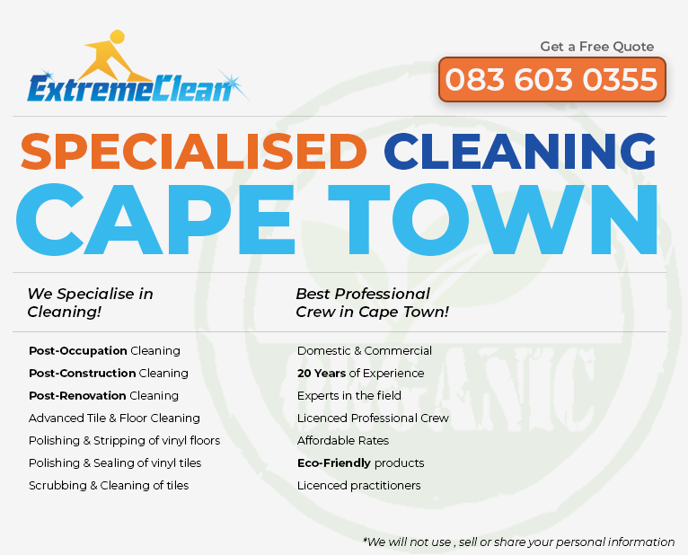 Cape Town Specialised Cleaning Cape Town pamphlet